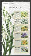 2014 British Flora I - Spring Blooms post  Go PG 14 UNMOUNTED MINT
