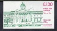 FJ5a 1985 National Gallery - Folded Booklet - good perfs