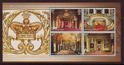 MS3601 2014 Buckingham Palace barcode miniature sheet UNMOUNTED MINT