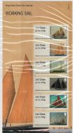 2015 Working Sail post  Go PG 18 UNMOUNTED MINT