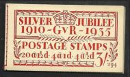 BB28 3/- Jubilee booklet complete Edition no.294 UNMOUNTED MINT/MNH