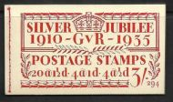 BB28 3/- Jubilee booklet complete Edition no.294 UNMOUNTED MINT