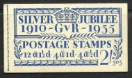 BB16 2/- Jubilee booklet complete Edition no.303 UNMOUNTED MINT/MNH
