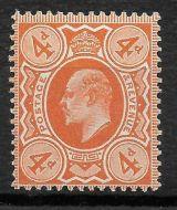 Sg 278 M26(2) 4d Deep Bright Orange Harrison perf 14 Unmounted mint/MNH