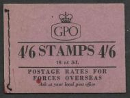 L1 4/6 Wilding GPO cypher Booklet with all panes Oct 1957 UNMOUNTED MINT