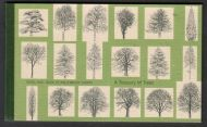 GB Prestige Booklet DX26 2000 A Treasury of Trees booklet SUPER CONDITION