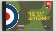 GB Prestige Booklet DY25 2018 The RAF Centenary booklet SUPER CONDITION