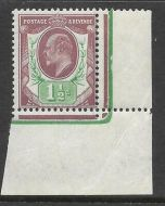 Sg 287 Spec M10(2) 1½d Red Purple  Yellow Green Somerset House MOUNTED MINT