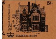 sg HP36 5/- Aug 1970 The Vineyard GPO stitched booklet with all panes MNH
