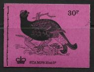 DQ66 Oct 1972 British Birds Series 30p Stitched Booklet - complete