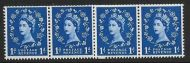 S16g Horizontal Wilding Multi Crown on Cream Coil join UNMOUNTED MINT/ MNH