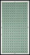 XN13 9d N.Ireland Regional - Full sheet UNMOUNTED MINT