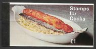 Sg Zp1a 1969 Cooks booklet - Good condition