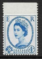 S83d 4d Multi Crowns Imperf top margin UNMOUNTED MINT/MNH