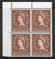 S38r 2d Edward listed variety - Dot over Rose stem R. 1/1 UNMOUNTED MINT