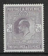 Sg 315 2/6 Dull Grey-Purple Somerset House Hendon Cert UNMOUNTED MINT