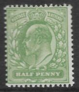 Sg 267 M3(1) ½d Dull Yellow Green  UNMOUNTED MINT