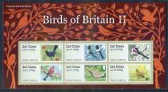2011 Birds of Britain II (2) Royal Mail post  Go PG UNMOUNTED MINT