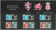 1989 3 Regions Regional Definitive Pack no.20 Presentation pack - Complete