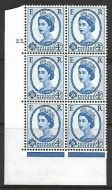 4d Wilding Multi Crown on White Cyl 23 Dot perf A(E I) UNMOUNTED MINT