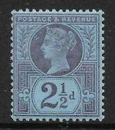 Sg 201 Spec K31(2) 2½d Purple on Blue paper Jubilee UNMOUNTED MINT