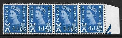 Sg XS9a 4d Scotland with variety - Dot before 2nd E UNMOUNTED MINT