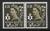 Sg XN8c 4d Northern Ireland with variety - flower flaw UNMOUNTED MINT