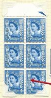 Sg XJ5 Sg 11a 4d Jersey Crowns with leaf flaw UNMOUNTED MINT