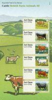 2012 Cattle British Farm Animals III (3) post  Go PG 9 UNMOUNTED MINT
