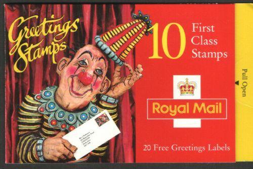 QE II Greetings Booklets