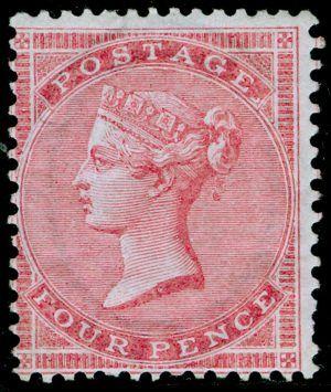 No Corner Letters 1855-1857