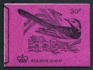 QE II Decimal Stitched Booklet